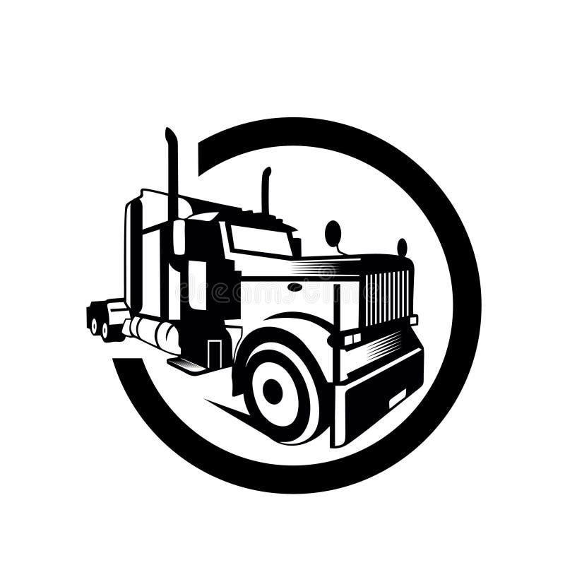 Truck cargo container trailer vector. Illustration,white background,eps8,eps10 vector illustration