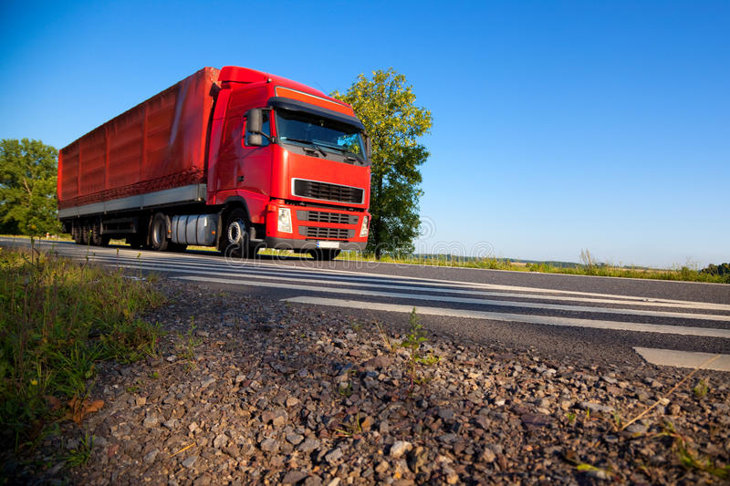 Download Truck Cargo Transportation Royalty Free Stock Photos - Image: 11525298