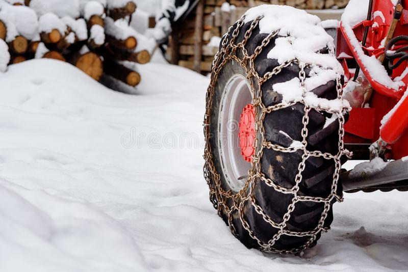 Snow Chains Truck Stock Images - Download 239 Royalty Free