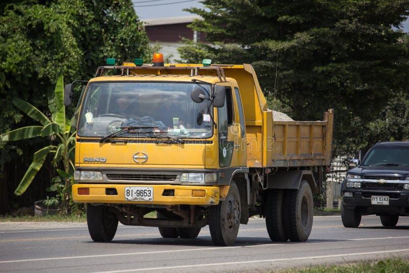 Truck of Chiang Mai Provincial Administrative Organization stock photos