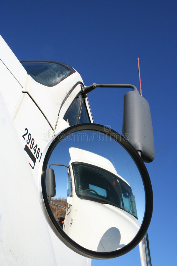 Truck Convex View stock photo