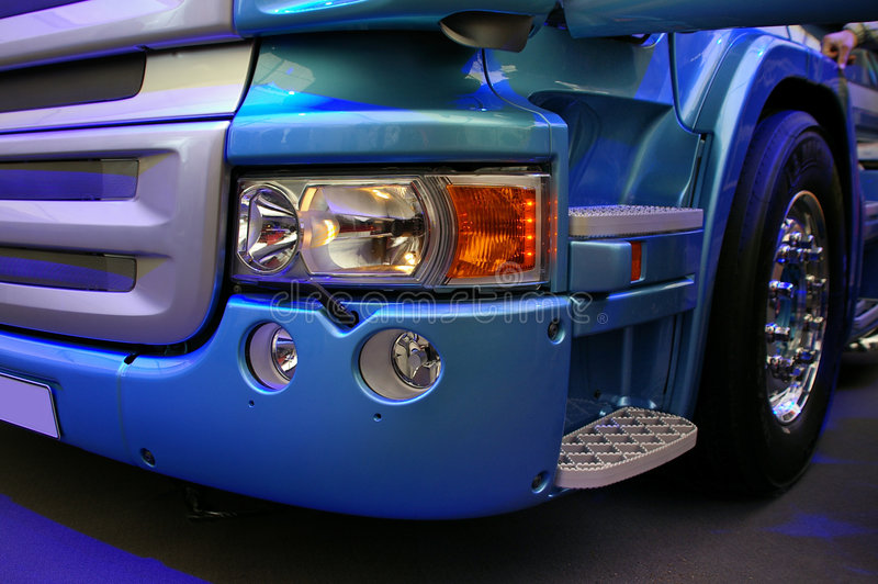 Truck details royalty free stock photo