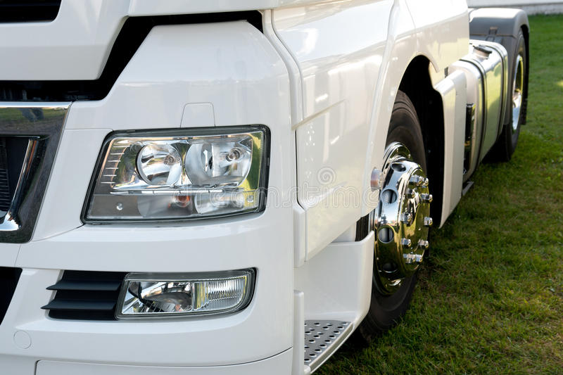 Truck Details stock photography