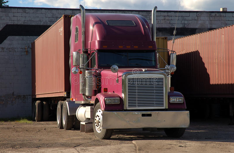Download Truck at Dock stock photo. Image of industry, industrial - 22090704