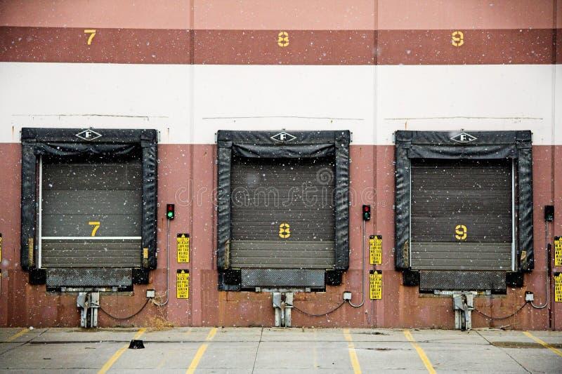 Truck Dock stock image