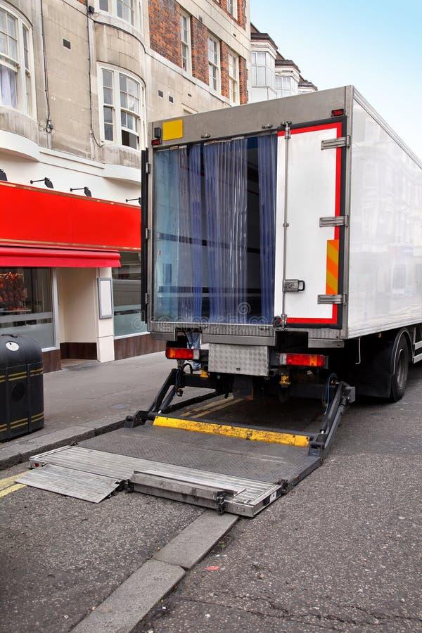 Truck door stock photo