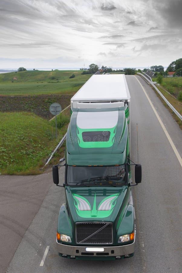 Truck-drama stock photography