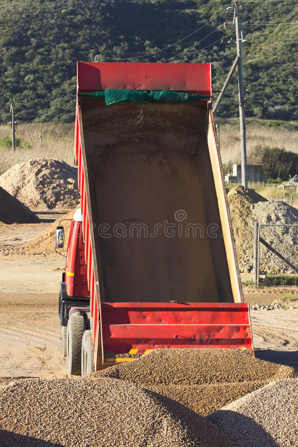 Download Truck With Empty Tipper Royalty Free Stock Photography - Image: 25737667