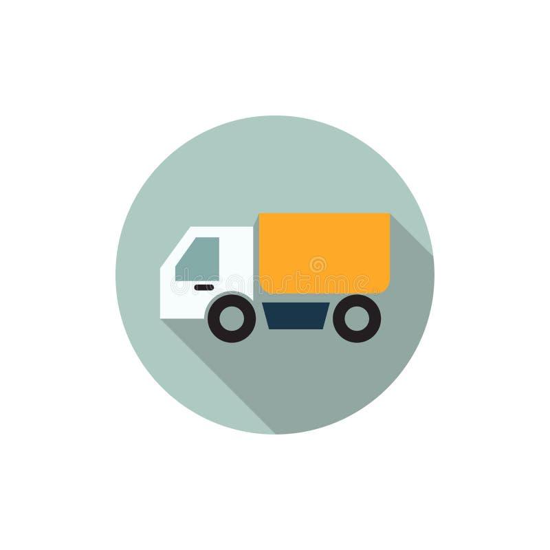 Truck flat icon,vector illustrations vector illustration