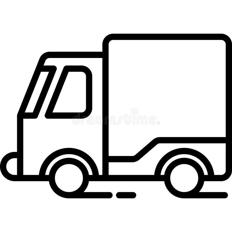 Truck Icon Vector royalty free illustration