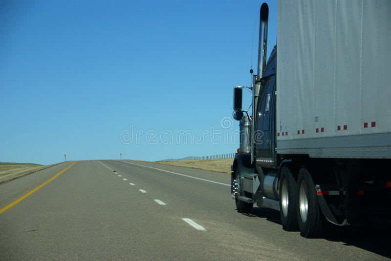Download Truck on prairie stock image. Image of cargo, road, transportation - 3379449