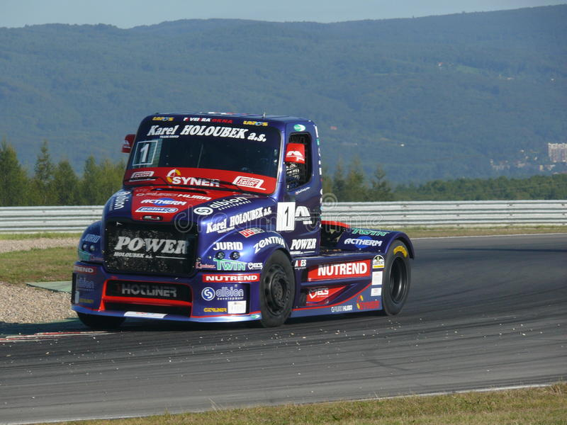 Truck races royalty free stock photos
