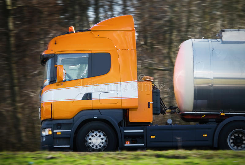 Download Truck on the road stock image. Image of truck, transportation - 22774977