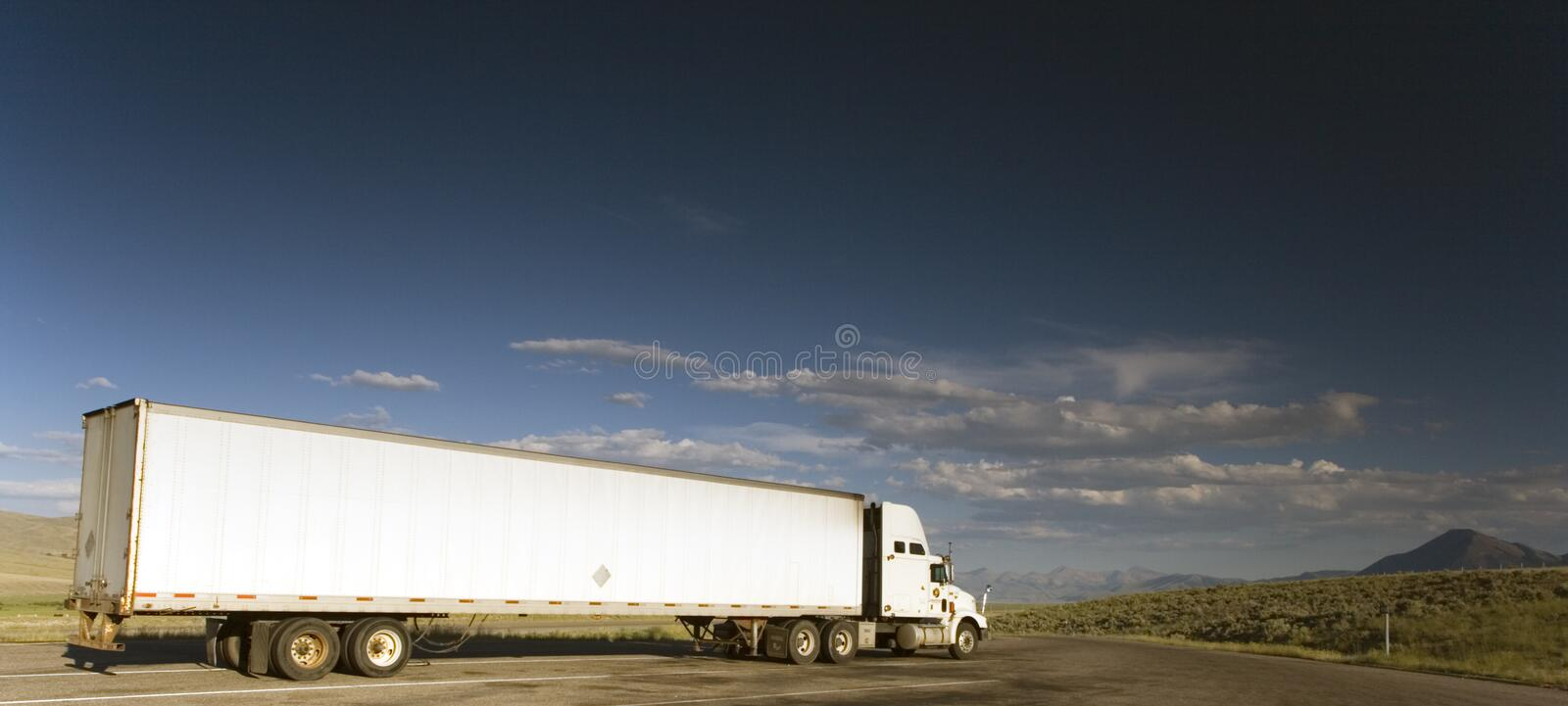 Download Truck on the road stock image. Image of transportation - 2892975
