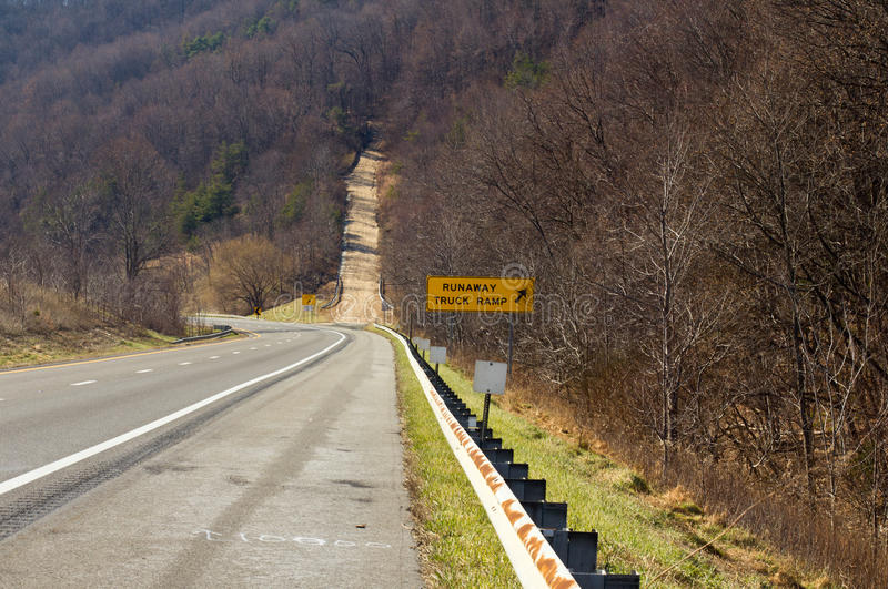 Download Truck Runaway Ramp stock photo. Image of travel, road - 23333640