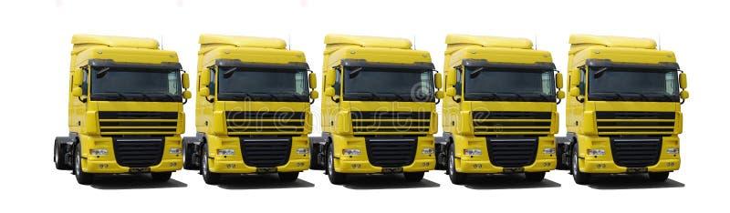 Truck's fleet stock photos