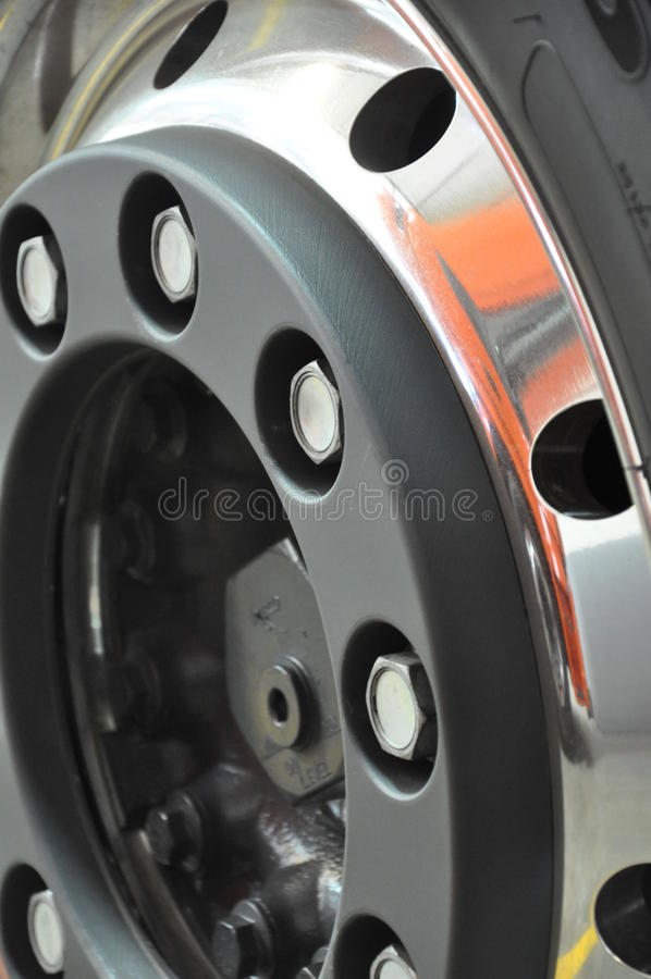 Download Truck's wheel rim stock photo. Image of parts, vehicle - 26959182