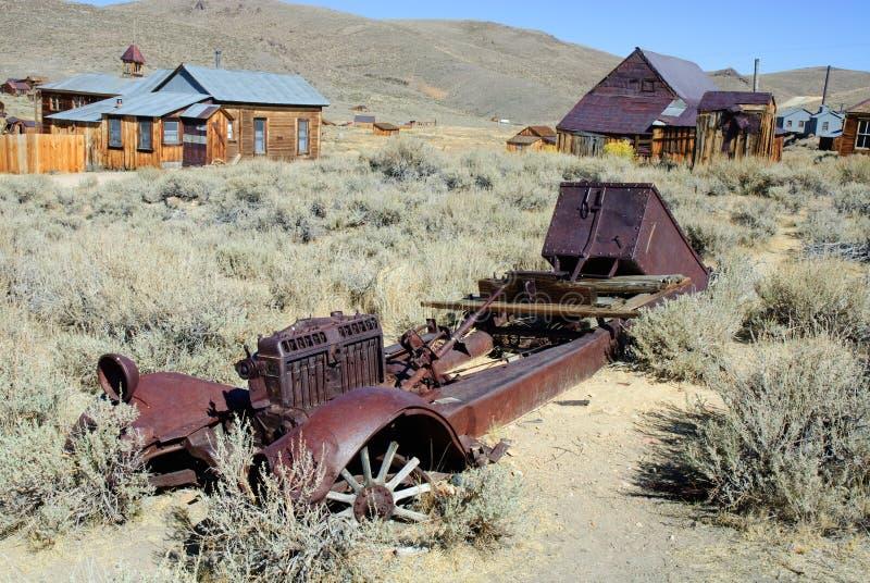 Download Truck Skeleton stock photo. Image of metal, nevada, bodie - 11287944