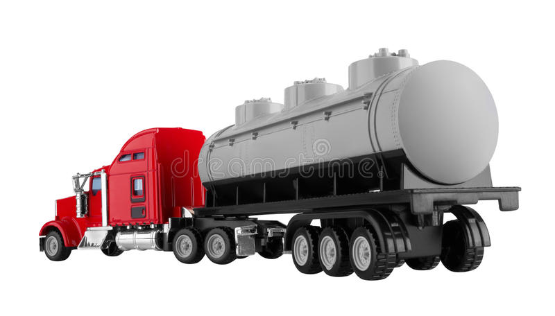 Truck with tank stock photos