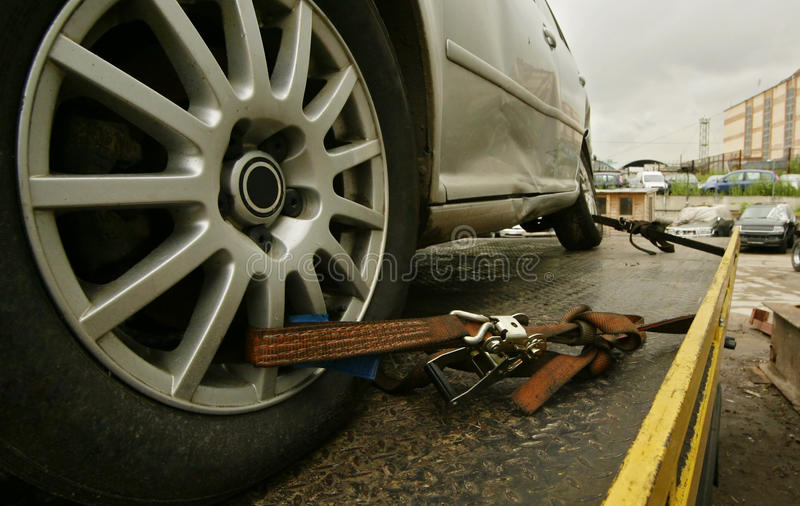 Download Truck tow stock image. Image of assistance, crash, crushed - 14268469