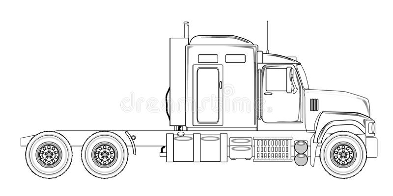 Line Drawing Tractor : Detailed tractor clipart outline farm embroidery