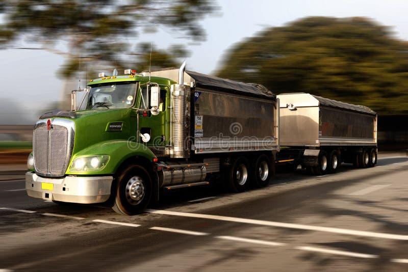 Truckin editorial stock image  Image of peterbilt, truckin