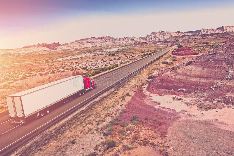 Truck Transport Concept royalty free stock images