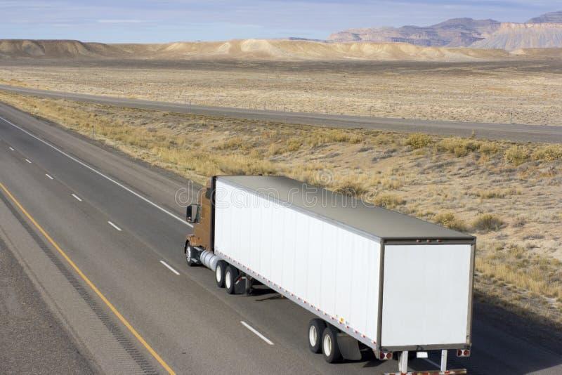 Truck in Utah royalty free stock image