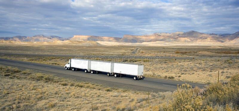 Truck in Utah stock image