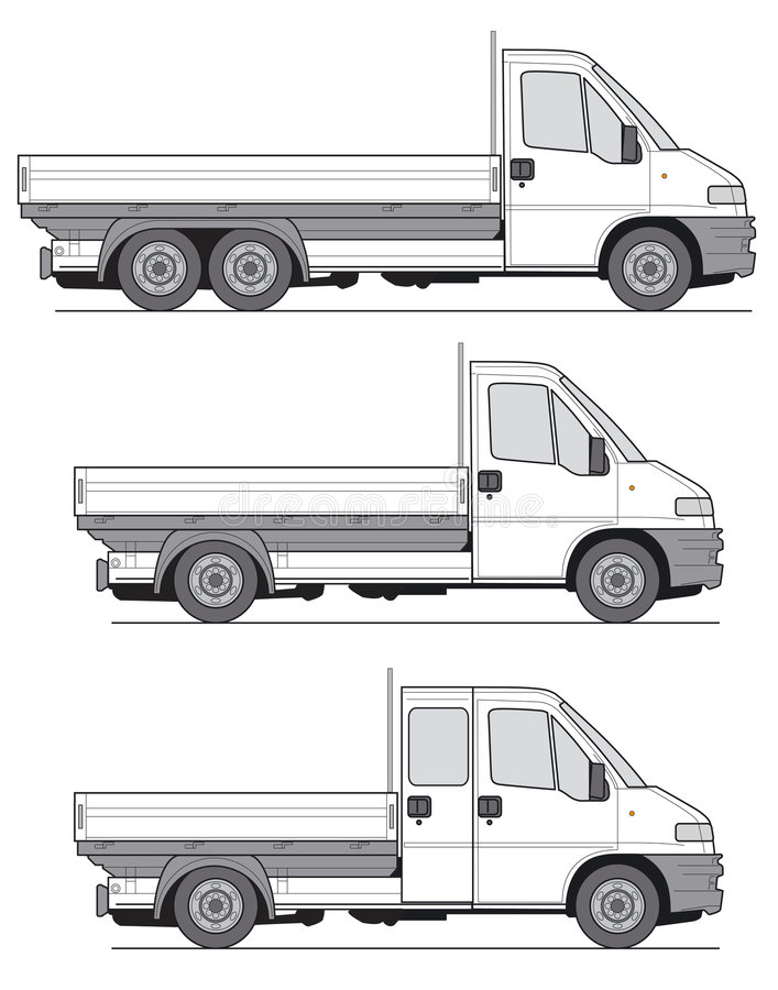 Truck Vector stock image