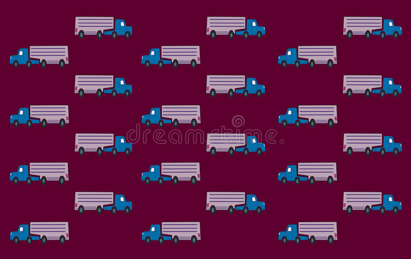 Download Truck Wall Paper stock illustration. Illustration of back - 5197321