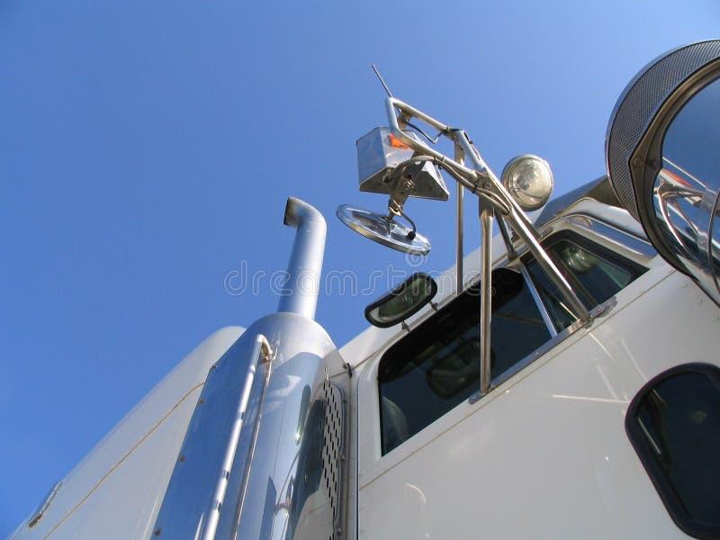 Truck White Στοκ Εικόνα
