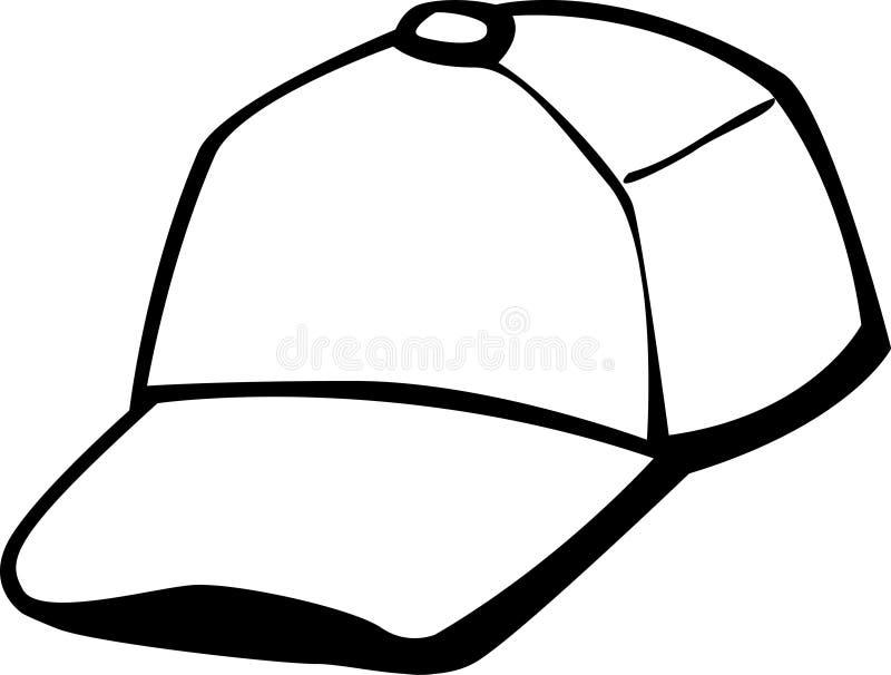 trucker or baseball cap vector illustration stock vector rh dreamstime com cap victor marinetraffic cap vector template free