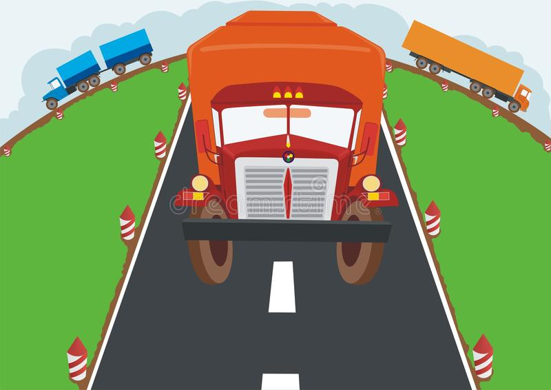 Download Trucking Freight Stock Photos - Image: 14300323