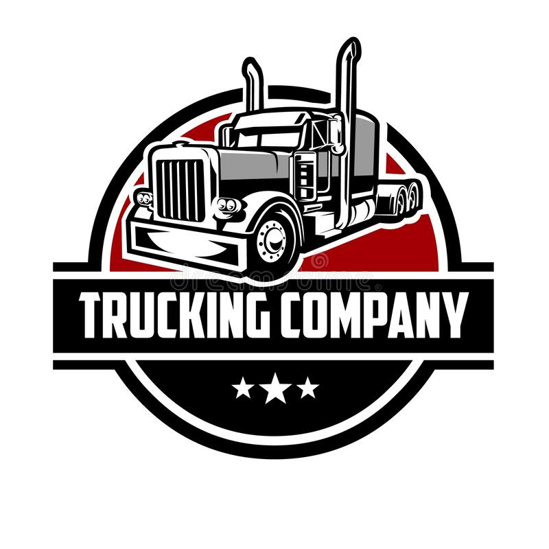 Free Trucking Logo Template. Premium Truck Logo Vector Isolated Royalty Free Stock Photo - 212283025
