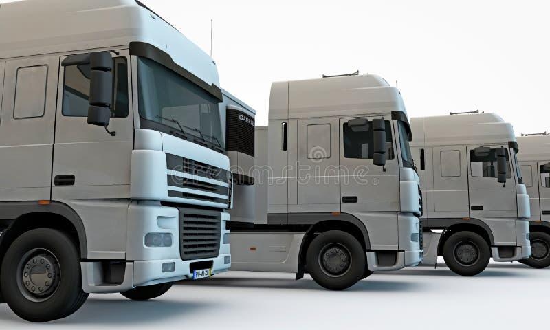 Download Trucks stock illustration. Illustration of delivery, auto - 25595367