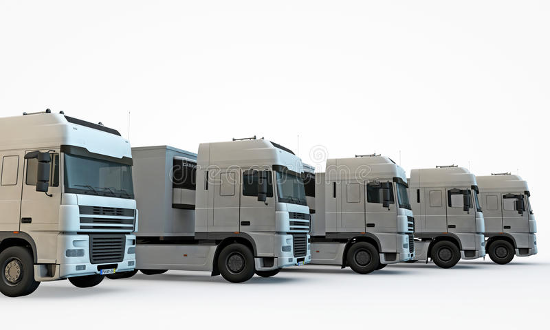 Download Trucks stock illustration. Image of horizontal, shipping - 25595386