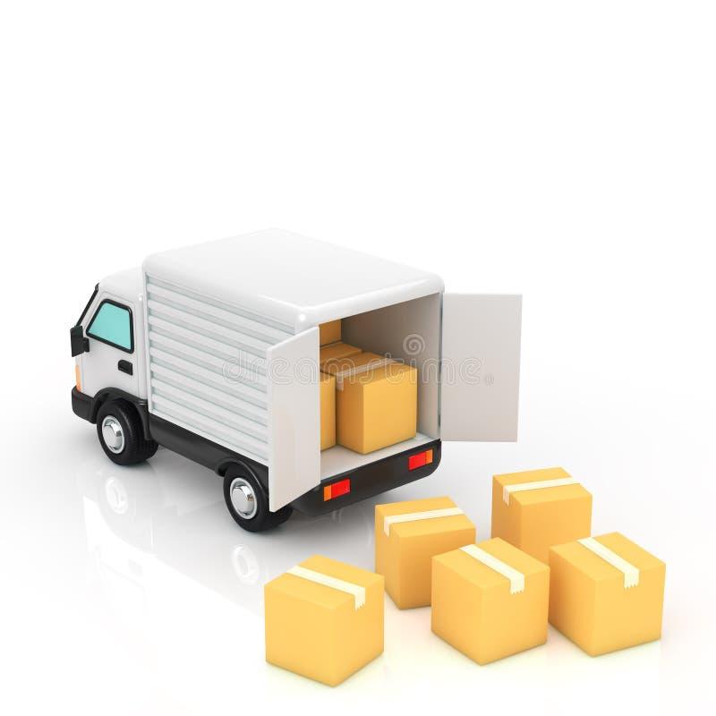 Trucks stock illustration