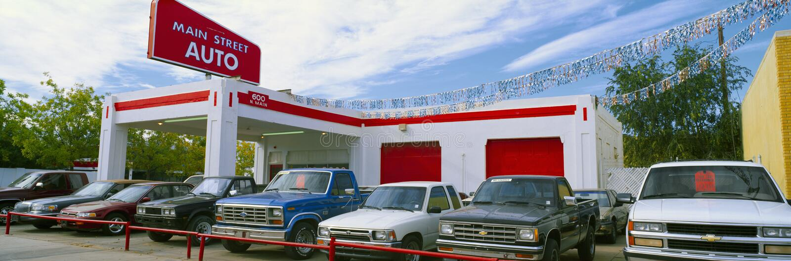 Download Trucks In Used Car Lot Editorial Image - Image: 23177030