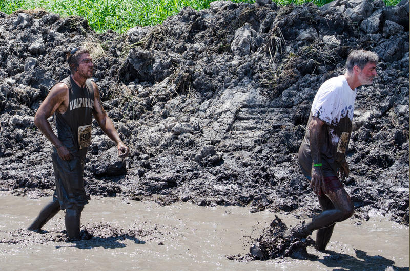 Download Trudging through mud editorial image. Image of filthy - 25882470