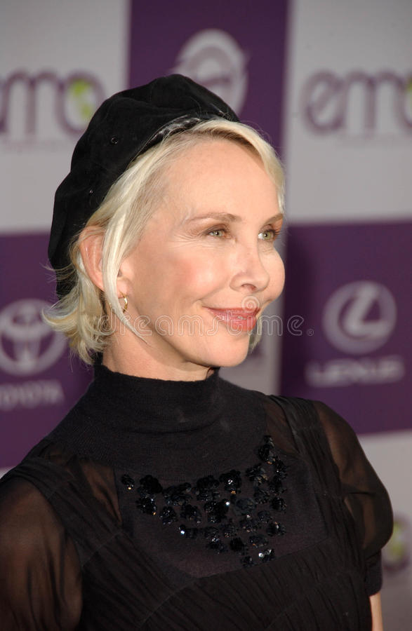 Download Trudie Styler editorial stock photo. Image of club, 17th - 23865348