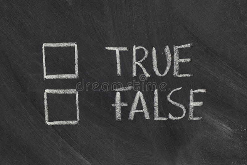 Download True or false checkboxes stock photo. Image of nobody - 14345668