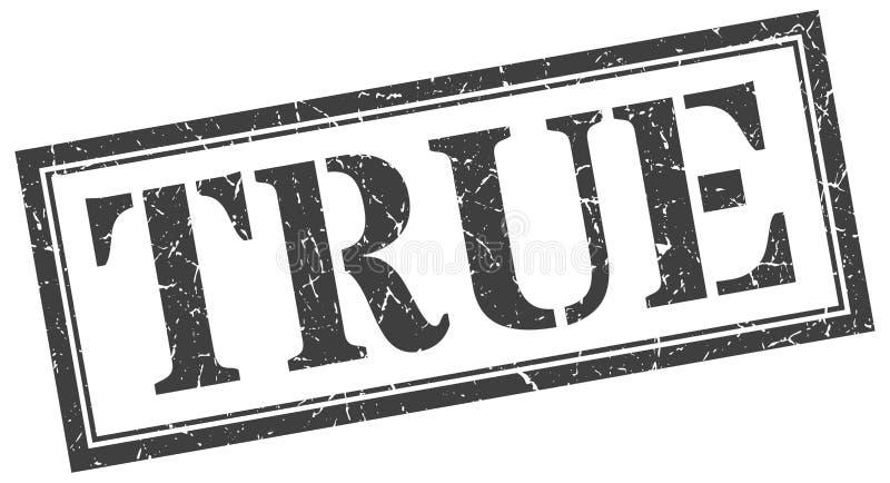 True stamp. True grunge vintage stamp isolated on white background. true. sign vector illustration