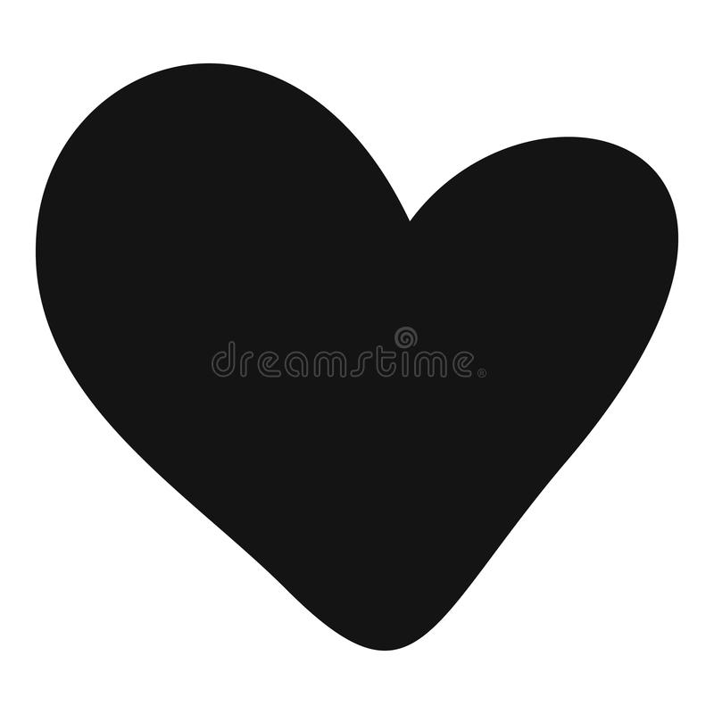 true heart icon simple style stock vector illustration of rh dreamstime com heart icon vector free download heart icon vector free download