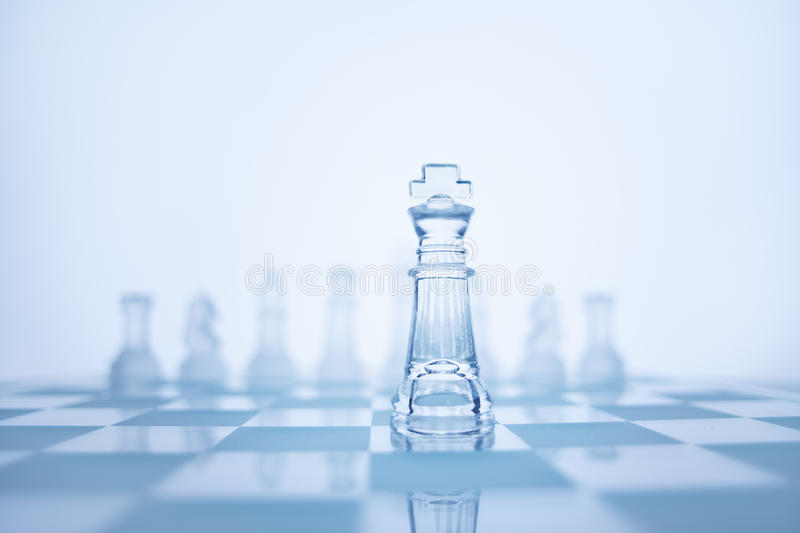 Download The true leadership. stock photo. Image of chess, courage - 31897664