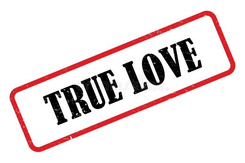 True love heading. On white background vector illustration