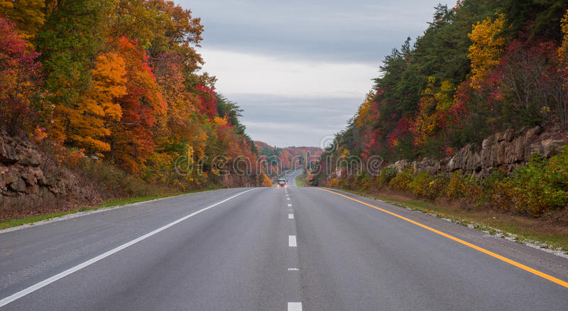 Trueque en la autopista 65 en Kentucky imagen de archivo