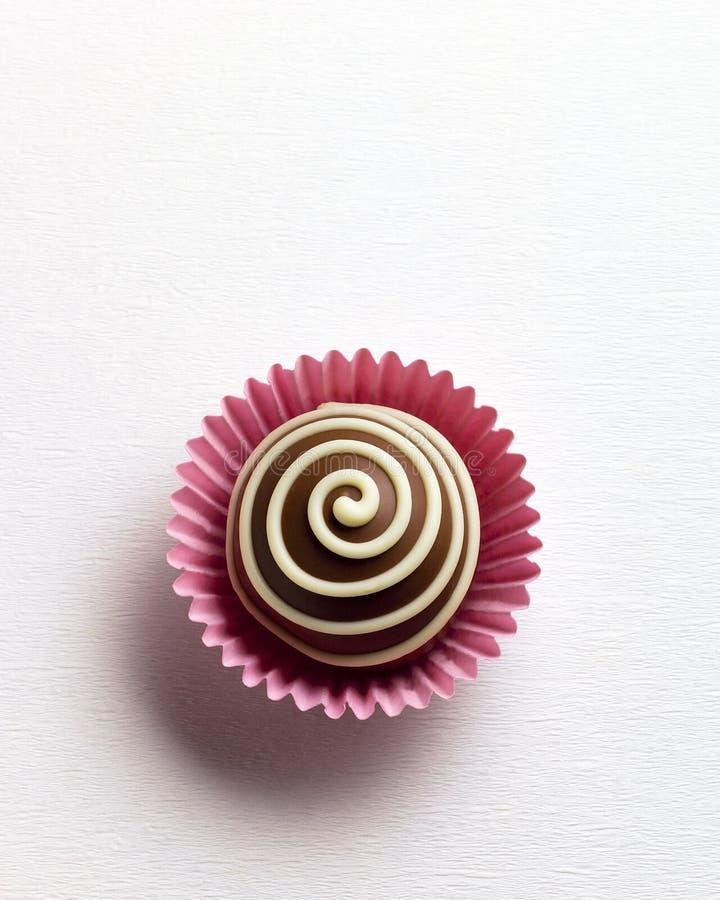 Trufa de chocolate imagenes de archivo