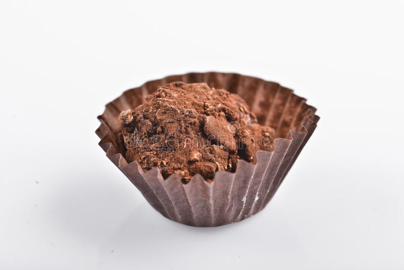 Trufa de chocolate fotos de stock royalty free