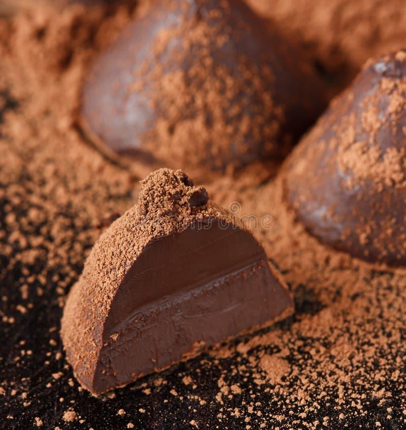 Download Trufa de chocolate. imagem de stock. Imagem de truffle - 29848923
